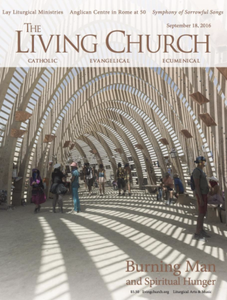 The Living Church  2016-09-18-cover
